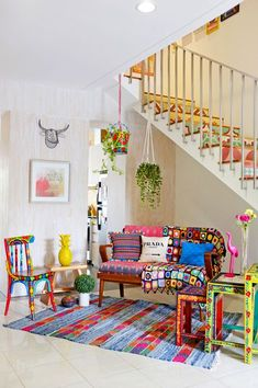 My home featured in Nylon Japan magazine. Living Room Decor, Living Spaces, Style Cottage, Colourful Living Room, Deco Boheme, Interior Decorating, Interior Design, Eclectic Decor, Home Decor Inspiration