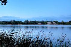Jezioro Durowskie - widok na Plażę Miejską. #wagrowiec #wielkopolska #polska #poland #jeziorodurowskie #lake #plaza #hotel #wągrowiec