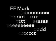 Pentagram Nueva tipografia para Mastercard FF Mark