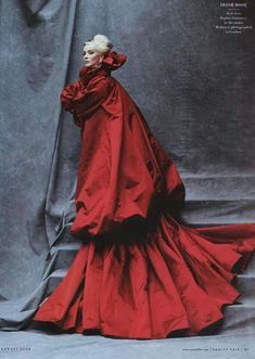Daphne Guinness in Alexander McQueen