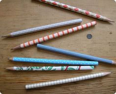 pencils - I have a feeling I'll need a lot of these!