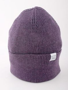 Norse Projects Watch Beanie Purple