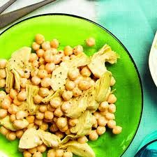 picture for Artichoke Chickpea Salad vegan recipe Delicious Vegan Recipes, Vegetarian Recipes, Healthy Recipes, Artichoke Recipes, Artichoke Salad, Chickpea Salad Recipes, Middle Eastern Recipes, Side Dish Recipes, Side Dishes