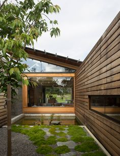 A rural new-build blurs the boundaries between inside and out