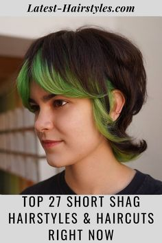 The shag is back! Click here to see this year's modern short shag haircuts for the ultimate beachy, shaggy look. (Photo credit Instagram @memmieyo) Short Shag Hairstyles, Latest Hairstyles, Hairstyles Haircuts, Shaggy, Photo Credit, Hair Cuts, Hair Styles, Modern, Instagram