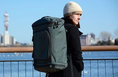 TomBihn�s Aeronaut 45 ($295) is an incredibly versatile duffel/backpack/shoulderbag. | 27 Incredible Travel Products You Didn't Know You Needed