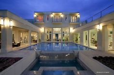 U-Shaped House Floor Plans | shaped house plans with courtyard – LUXURY HOME PLANS