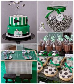 World Cup Soccer themed birthday party with Lots of Fun Ideas via Kara's Party… Soccer Birthday Parties, Football Birthday, Soccer Party, Birthday Party Themes, Soccer Ball, Football Soccer, Birthday Ideas, Soccer Baby Showers, Boy Baby Shower Themes
