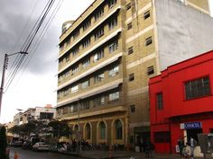 """Universidad Distrital, Sabio Caldas"" building, seeing from the 8th avenue, Bogotá D.C."