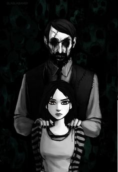 Alice And the Asshole by blablabamby on DeviantArt Alice Liddell, Death Art, Alice Madness Returns, Halloween Horror, Some Pictures, Alice In Wonderland, Art Reference, Anime Art, Weird