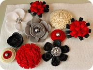 felt flower ideas