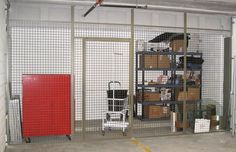 A commercial wire partition fabrication and installation for a commercial property in Lincolnshire, IL.