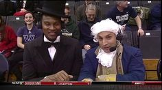 Go Ahead, We Dare You To Pay Attention To Anything These Guys Dressed As Presidents Are Saying About Basketball