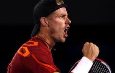 Lleyton Hewitt of Australia.  Australian Open, January 2012.  #tennis