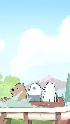 - Cartoon Videos Kids For 2019 Cartoon Wallpaper, Bear Wallpaper, Cute Disney Wallpaper, We Bare Bears Wallpapers, Cute Wallpapers, Wallpaper Backgrounds, Iphone Wallpaper, Cartoon Gifs, Cartoon Shows