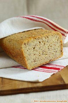 Nóri's ingenious cooking: My best gluten-free, whole grain bread, ever! Need psyllium husk. Vegan Dessert Recipes, Gf Recipes, Vegan Recipes Easy, Raw Food Recipes, Gluten Free Recipes, Cooking Recipes, Cooking Bread, Bread Recipes, Gluten Free Baking
