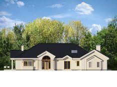 Проект дома «Парковая резиденция 2» представительского класса, напиминает стиль строения французских и американских пригородных резиденций Villa, Mansions, House Styles, Home Decor, Decoration Home, Manor Houses, Room Decor, Villas, Mansion