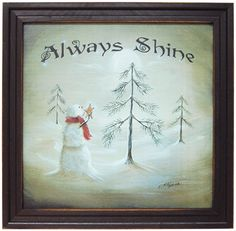 Always Shine Framed Print