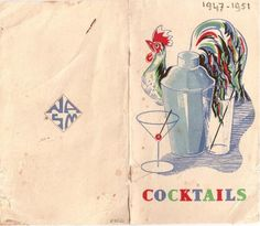 #Cocktails through the years! #HALCelebrations