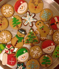 Galletas decoradas  Navideñas