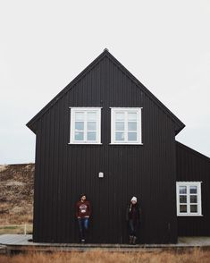 Black farmhouse
