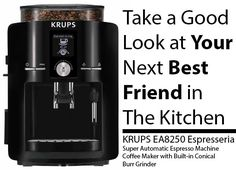 KRUPS EA8250 Espresseria Super Automatic Espresso Coffee Maker Review