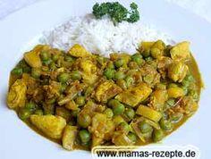 Indisches Hähnchengulasch | Mamas Rezepte - mit Bild und Kalorienangaben