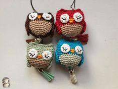 Resultado de imagen para buhos crochet