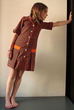 perfectly vintage handmade dress