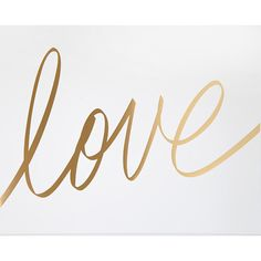 Love Script Art Print | The TomKat Studio Shop