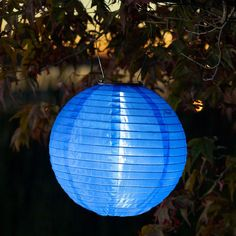 Japanese Garden and Outdoor Solar Paper Lanterns Solar Lantern Lights, Blue Lantern, Luz Solar, Solar Led, Decorative Solar Garden Lights, Solar Paper, Japanese Lighting, Japanese Garden Lanterns, White Led Lights
