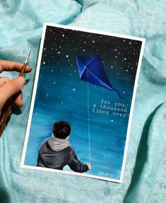 Boy Drawing, Drawing Sketches, Drawings, Kite Quotes, The Kite Runner, Book Of Life, Drawing Reference, Gouache, Inktober
