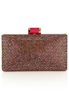 Embellished with pearlescent crystals the Eclipse Clutch is a stunning way to complete a fabulous look.