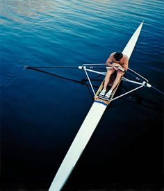 Getting ready for a hard row.  Why Rowing Is the New Spinning: Health & Fitness : Page 5 : Details