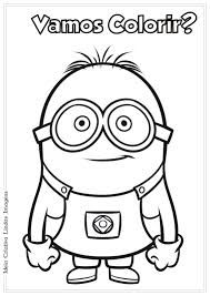 Image result for minions para colorir