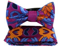 Self Tie Bow Tie & Hanky - www.buyyourties.com Tie Bow, Magenta, Fashion Accessories, Bows, Men, Clothes, Style, Arches, Outfits