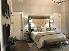 The king size bed was build by our team. Design by Black Dog Design House Residential Interior Design, Commercial Interior Design, Commercial Interiors, Interior Design Services, Dog Design, House Design, Construction Contractors, Cabinet Furniture, Design Firms