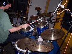 Eclectic percussion setup
