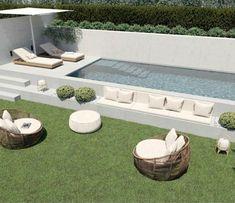 Outdoor Sectional, Sectional Sofa, Outdoor Furniture Sets, Outdoor Decor, Garden, Home Decor, Swiming Pool, Home, Modular Couch