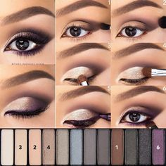 Easy Step by Step #Makeup #Tutorials for Beginners | #Maquillaje | Maquillaje, Ojos y #Maquillajedeojos #beautymakeup