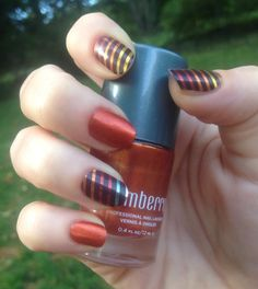 Sharing this from another consultant!! Love this combo I Lava You nail lacquer and Harvest Gold nail wrap!! To order yours go to lacretastewart.jamberry.com