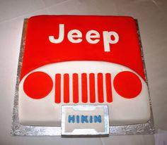 A jeep cake 40th Birthday Themes, Birthday Cakes For Men, 16th Birthday Gifts, Sweet 16 Birthday, 3rd Birthday, Birthday Ideas, Cake Cookies, Cupcake Cakes, Cupcakes