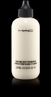Face And Body Foundation in white - For mixing or Halloween!