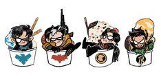 Nightwing, Batgirl, Tim Drake Red Robin, Robin Dc, Teen Titans, I Am Batman, Gotham Batman, Batman Art, Red Hood Jason Todd