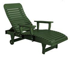 Wildridge Recycled Plastic Heritage Chaise Lounge