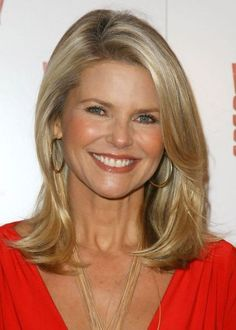 Hairstyles For Women Over 50 Long Christie Brinkley