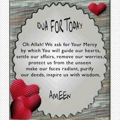 Daily Dua Daily prayer