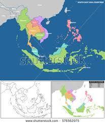 Hasil Gambar Peta Asean Bp2ip Pinterest Map Illustration South East