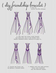 How to Chic: DIY FRENDSHIP BRACELETS