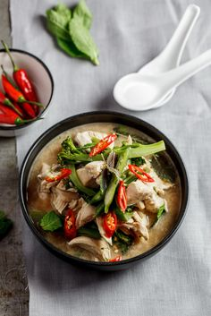 Asian Chicken broth | simply-delicious.co.za #foodphotography #foodstyling #Dinner